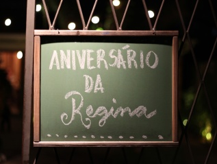 Aniversário da Regina